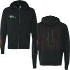 August Burns Red - Constellations (Zip Up Hoodie) [入荷予約商品]