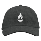 Like Moths To Flames - Simple Moth (Charcoal) (Dad Hat) [入荷予約商品]
