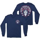 Four Year Strong - Chains (Long Sleeve) (Navy) [入荷予約商品]