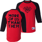 Stick To Your Guns - More of Us (Red/Black) (Baseball) [入荷予約商品]