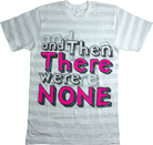 And Then There Were None - Texty (Striped)