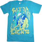 City Lights - Shark (Aqua)
