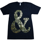 Of Mice & Men - Ampersand Gold Foil (V-Neck)