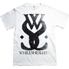 While She Sleeps - Distressed Logo (White)