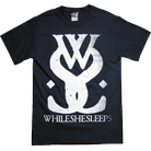 While She Sleeps - Distressed Logo (Black)