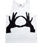 3OH!3 - Black Hands (Tank Top)
