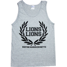 Lions Lions - Wreath (Heather Grey) (Tank Top)