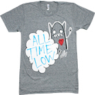 All Time Low - Heart Monster (Tri-Blend Heather Grey)