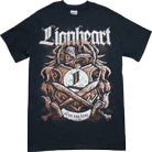 Lionheart - Dead and Gone (Black/Red)
