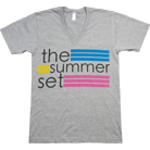 The Summer Set - Logo (Heather Grey) (V-Neck)