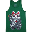 Pyknic Clothing - Sugar Cat (Green) (Tank Top)