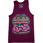 Pyknic Clothing - Brain Food (Maroon) (Tank Top)