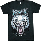 Arkaik Clothing - Sabretooth (Tri-blend Black)