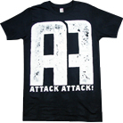 Attack Attack! - AA Logo (Black)