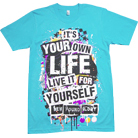 New Found Glory - It's Your Own Life! (Light Blue)
