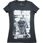 Glamour Kills - Set Your Goals Collab Tee (Dark Heather Grey) [girl's]