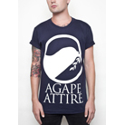 Agape Attire Clothing - Logo (Navy)