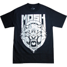 Mosh It Up Clothing - Wolf Silver Foil
