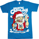 Breathe Carolina - Santa (Blue)