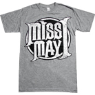 Miss May I - Circle Logo (Heather Grey)