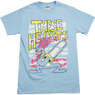 These Hearts - Bunny Chainsaw (Light Blue)