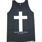 Agape Attire Clothing - Called To Be Bold (Tri Black) (Tank Top)