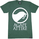 Agape Attire Clothing - Logo (Heather Forest)