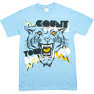 Count Your Blessings - Electric Cat (Light Blue)