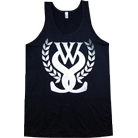 While She Sleeps - Emblem (Black) (Tank Top)