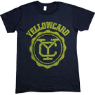 Yellowcard - Logo (Black)