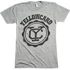 Yellowcard - Logo (Grey)