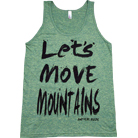 Anthem Made - Moving Mountains (Tank Top)