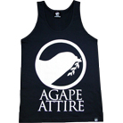 Agape Attire Clothing - Logo (Black) (TankTop)