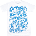 Eskimo Callboy - Dashed Logo (White)