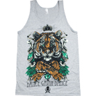 Arkaik Clothing - ARKA/DGD Collab Shirt Tiger (Heather Gray) (Tank Top)