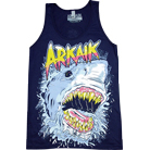 Arkaik Clothing - Shark (Navy) (Tank Top)