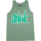 Arkaik Clothing - Script Logo (Tri-Evergreen) (Tank Top)