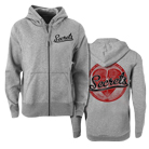 Secrets - Heart (Heather Grey) (Zip Up Hoodie) [入荷予約商品]