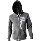 We Are The In Crowd - Splattered Logo (Heather Gray) (Zip Up Hoodie) [入荷予約商品]
