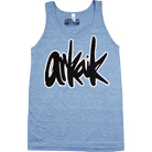 Arkaik Clothing - Script Logo (Athletic Blue) (Tank Top)