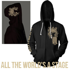 Chiodos - All The World's A Stage (Zip Up Hoodie) [入荷予約商品]