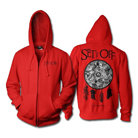 Set It Off - Cinematics (Red) (Zip Up Hoodie) [入荷予約商品]