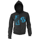 Intervals - Logo (Dark Heather) (Zip Up Hoodie) [入荷予約商品]