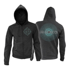 I Am Abomination - Atomic (Dark Heather) (Zip Up Hoodie) [入荷予約商品]