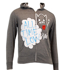 All Time Low - Heart Monster (Heather Grey) (Zip Up Hoodie) [入荷予約商品]