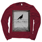 I Call Fives - Bird Frame (Maroon) (Sweat) [入荷予約商品]