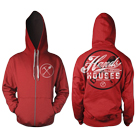Hands Like Houses - Pick Axe (Red) (Zip Up Hoodie) [入荷予約商品]