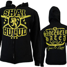 Shai Hulud - Sincerely Hated (Black/Yellow) (Zip Up Hoodie) [入荷予約商品]