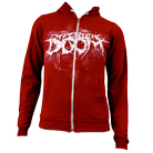 Impending Doom - Detailed Logo (Cranberry) (Zip Up Hoodie) [入荷予約商品]