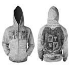 This Time Next Year - Drop Out Of Life Crest (Zip Up Hoodie) [入荷予約商品]